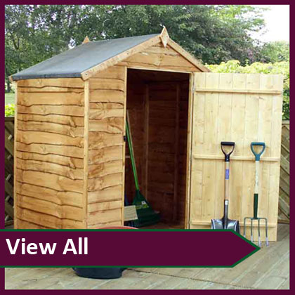 View All Wooden Sheds