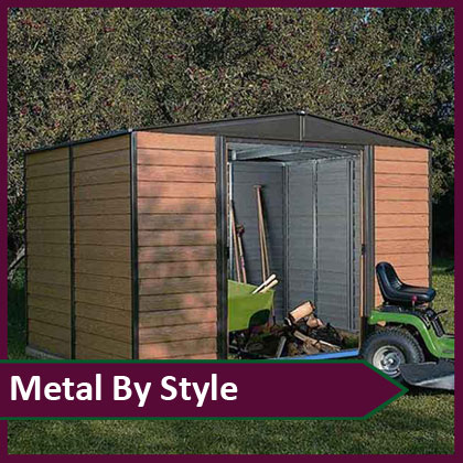 Metal Sheds by Style