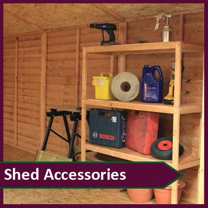 Garden Shed Accessories
