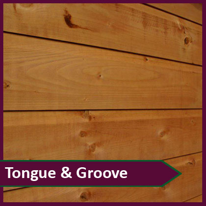 Tongue & Groove Sheds