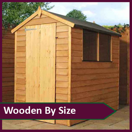 Wooden Sheds by Size