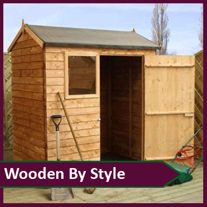 Wooden Sheds by Style