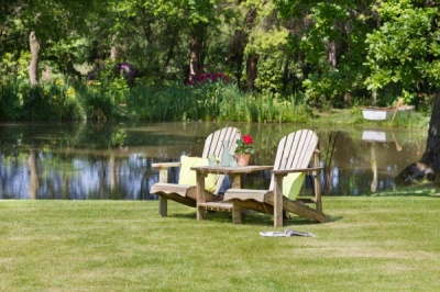 NEW LILY RELAX DOUBLE SEAT WOODEN PRESSURE TREATED (1.75 x 0.92 x 0.92m)