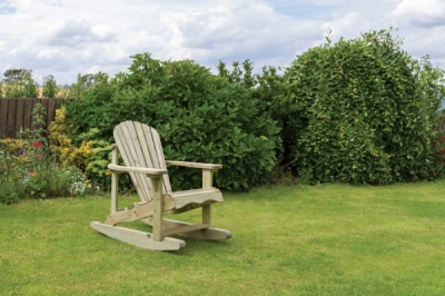 NEW LILY ROCKING CHAIR WOODEN PRESSURE TREATED (0.72 x 1.14 x 0.99m)