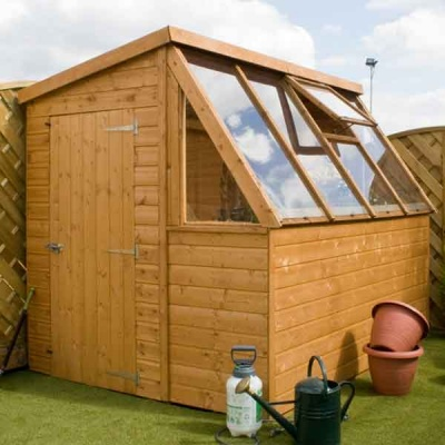 8 x 6 Wooden Garden Potting Shed