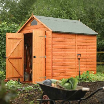 8 x 6 Rowlinsons Security Shed Garden Storage