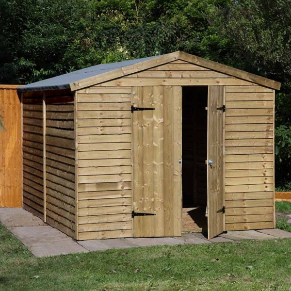 Garden Sheds 10 X 8 beautiful garden sheds 10 x 6 overlap pent shed with decor