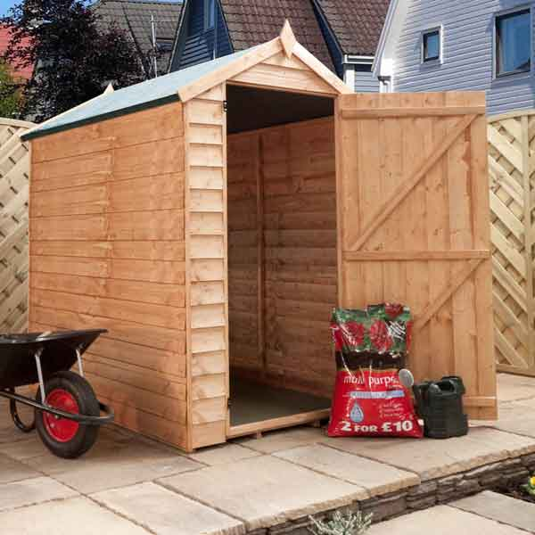 designs garden sheds 6x4