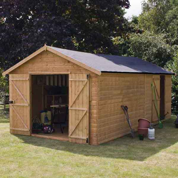 Large wooden sheds scotland nomis for Garden shed perth