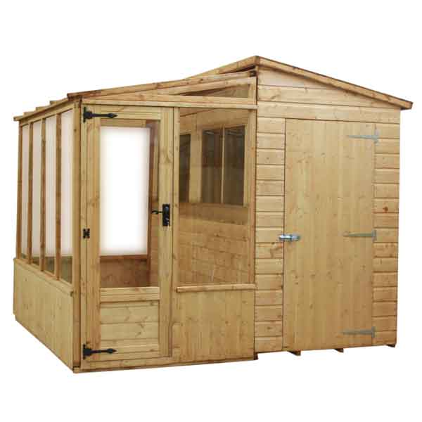 ... Garden Sheds With Greenhouse