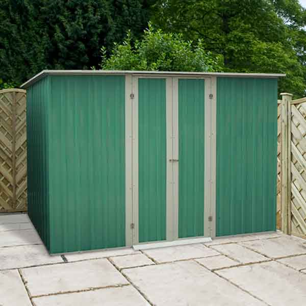 10 x 6 metal garden shed for Garden shed repair parts