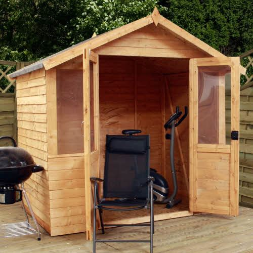 traditional garden sheds 7x5