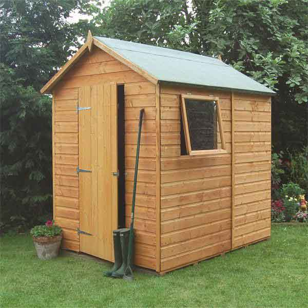 Great value sheds summerhouses log cabins playhouses for Garden shed 7 x 5