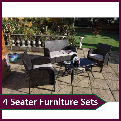 4 Seater Furniture Sets