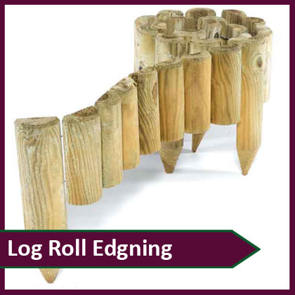Log Roll Edging