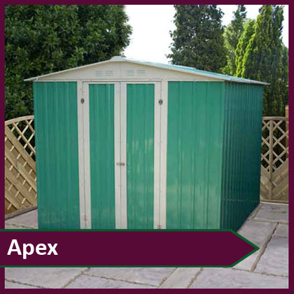 Apex Metal Sheds