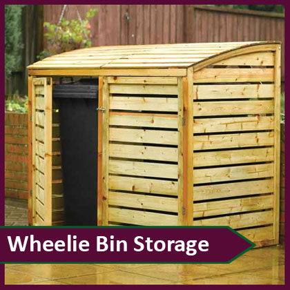 Wheelie Bin Recycle Storage