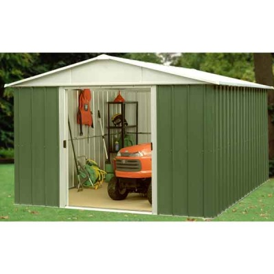 10 x 10 Yardmaster Metal Apex Garden Shed