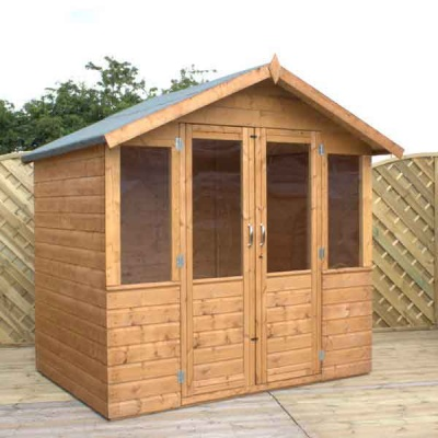 7 x 5 Traditional Wooden Garden Summerhouse