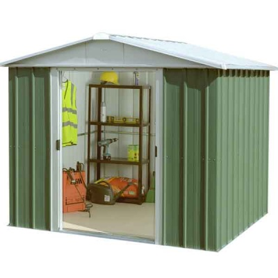 8 x 7 Yardmaster Metal Apex Garden Shed