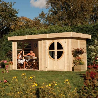 16 x 8 Rowlinsons Connor Garden Summerhouse