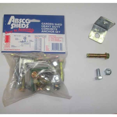 Absco Anchor Kit x1 - ONLY available with Absco Shed purchase