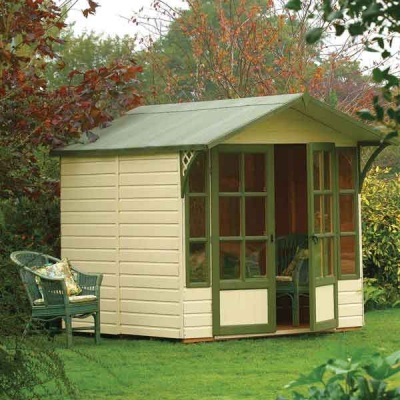 8 x 7 Rowlinsons Tongue & Groove Eaton Garden Summerhouse