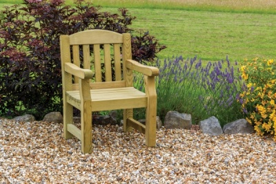 NEW EMILY CHAIR WOODEN PRESSURE TREATED (0.64 x 0.65 x 0.95m)