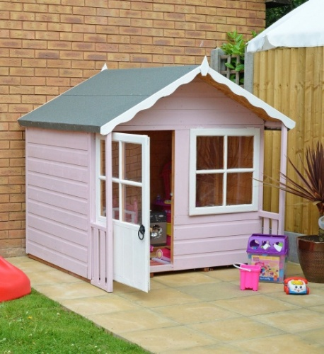 5x4 Wooden Playhouse Den