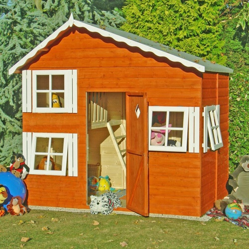 8x6 Wooden Playhouse Den