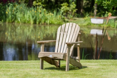 NEW LILY RELAX SEAT  WOODEN PRESSURE TREATED (0.72 x 0.92 x 0.92m)