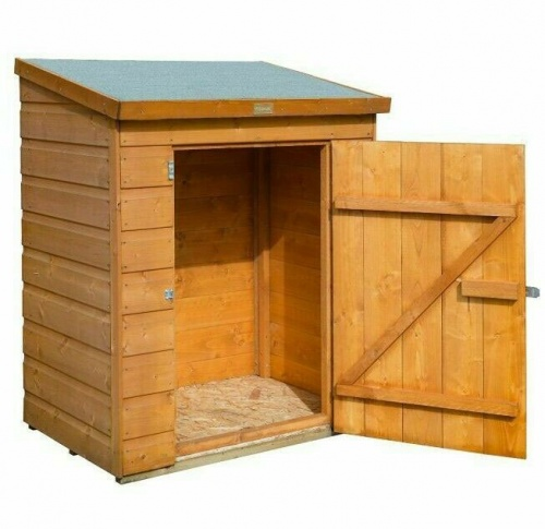 6 x 3 Rowlinsons Wooden Lockable Patio Store