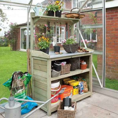 Rowlinsons Premier Garden Potting station