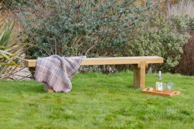 NEW REBECCA BENCH WOODEN PRESSURE TREATED (1.8 x 0.24 x 0.75m)