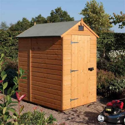 7 x 5 Rowlinsons Wooden Security shed Garden Storage