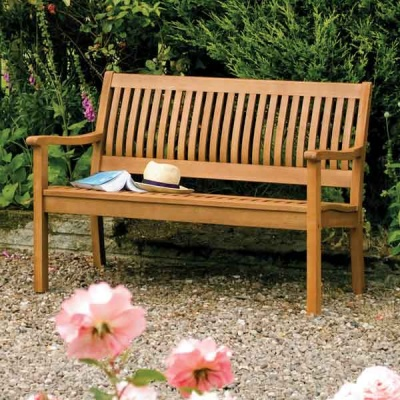 Rowlinsons Hardwood Willington Garden Bench