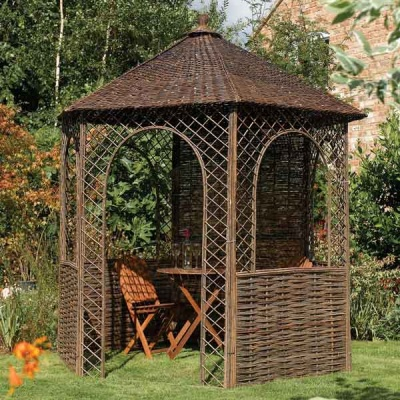 8 x 7 Rowlinsons Willow Garden Gazebo