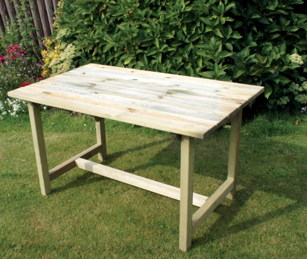NEW CAROLINE TABLE WOODEN PRESSURE TREATED (1.6 x 0.76 x 0.74m)