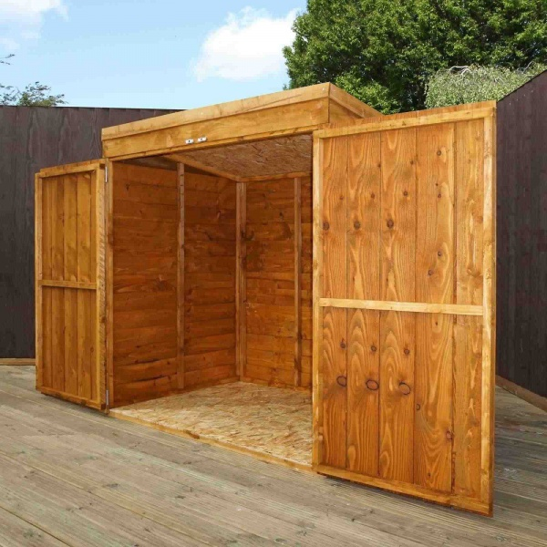 5 x 3 Wooden Overlap Garden Mower / Small Bike Store & Great Value Sheds Summerhouses Log Cabins Playhouses Wooden ...