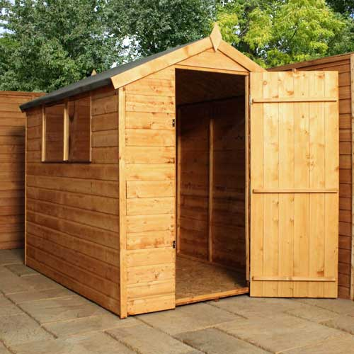 7 x 5 Shiplap Tongue & Groove Apex Wooden Garden Sheds