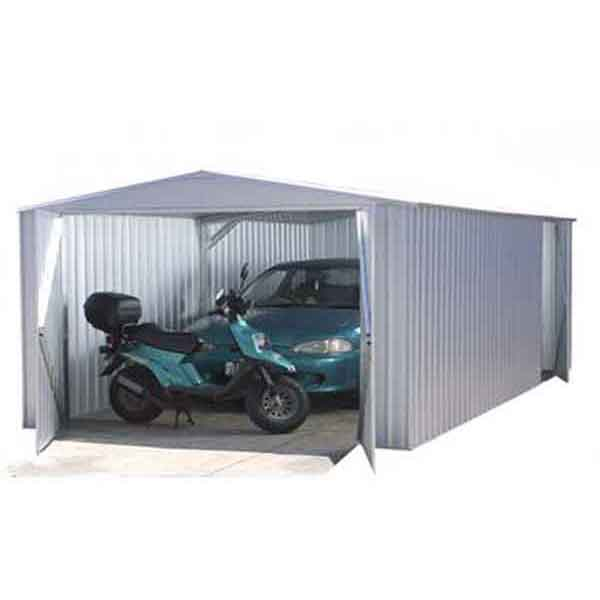 20 x 10 Absco Utility Workshop 6m x 3m Zinc Colour Metal Work Shop