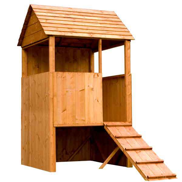 4 x 4 Children Wooden Tower Lookout Playhouse
