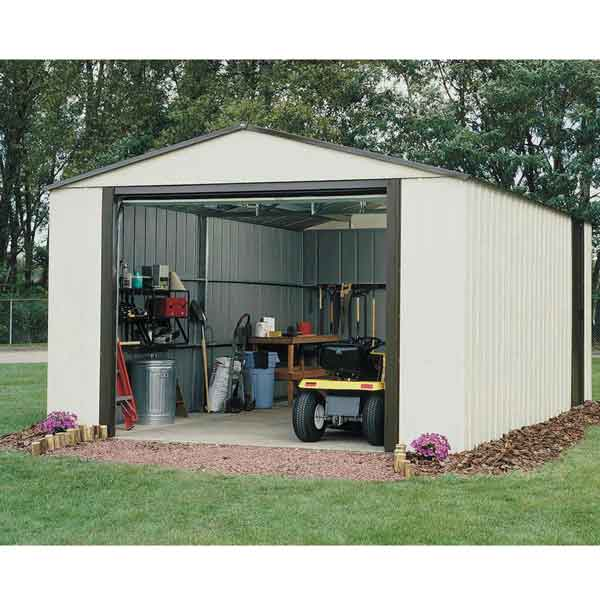 12 x 10 Murryhill Metal Garage Garden Storage Unit