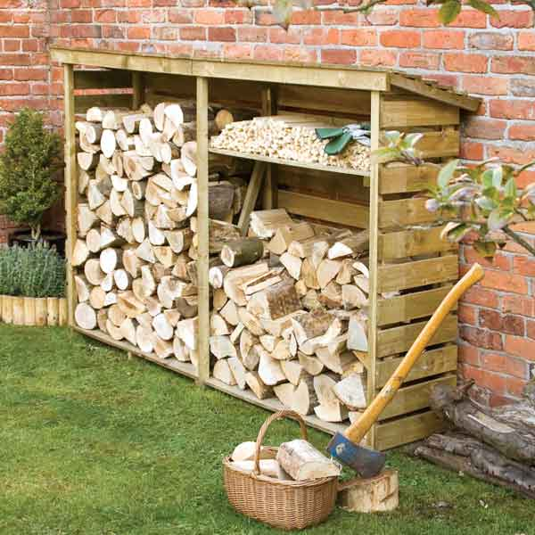 Rowlinsons Large Garden  Log Store