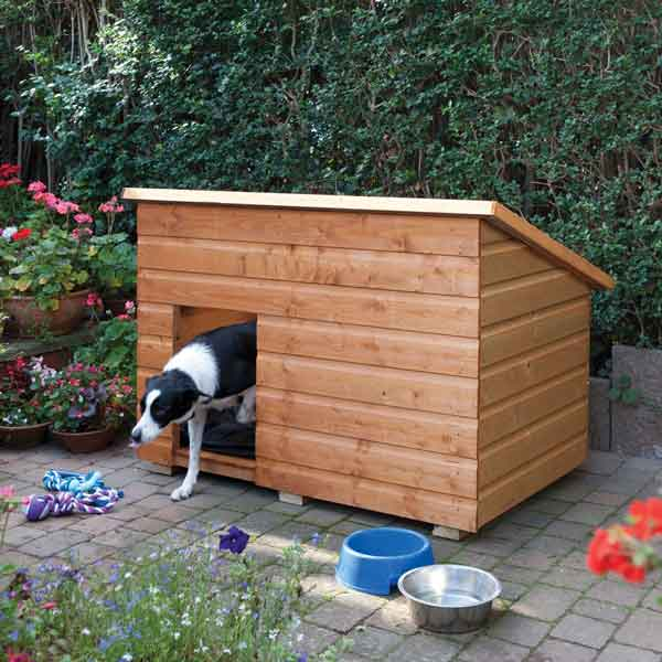 Rowlinsons Large Dog Kennel Garden Pet House