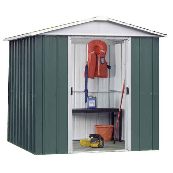 Ordinaire 6 X 5 Yardmaster Metal Apex Garden Shed